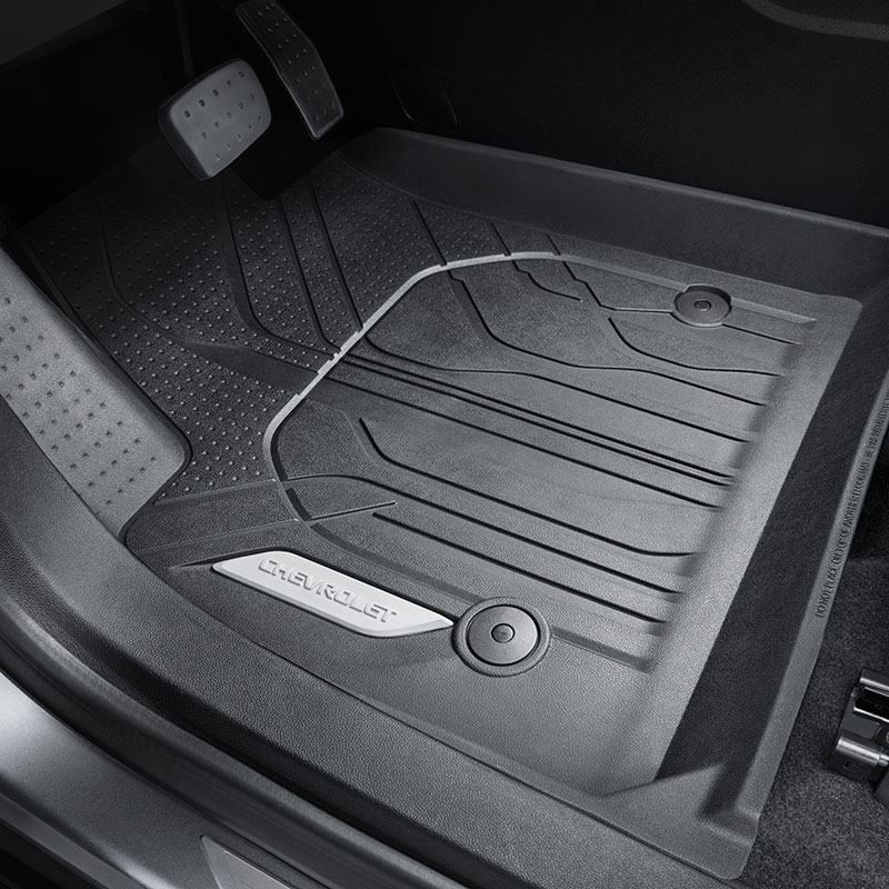 2019 Blazer Floor Liners, Front Row, Black, Chevrolet Sc