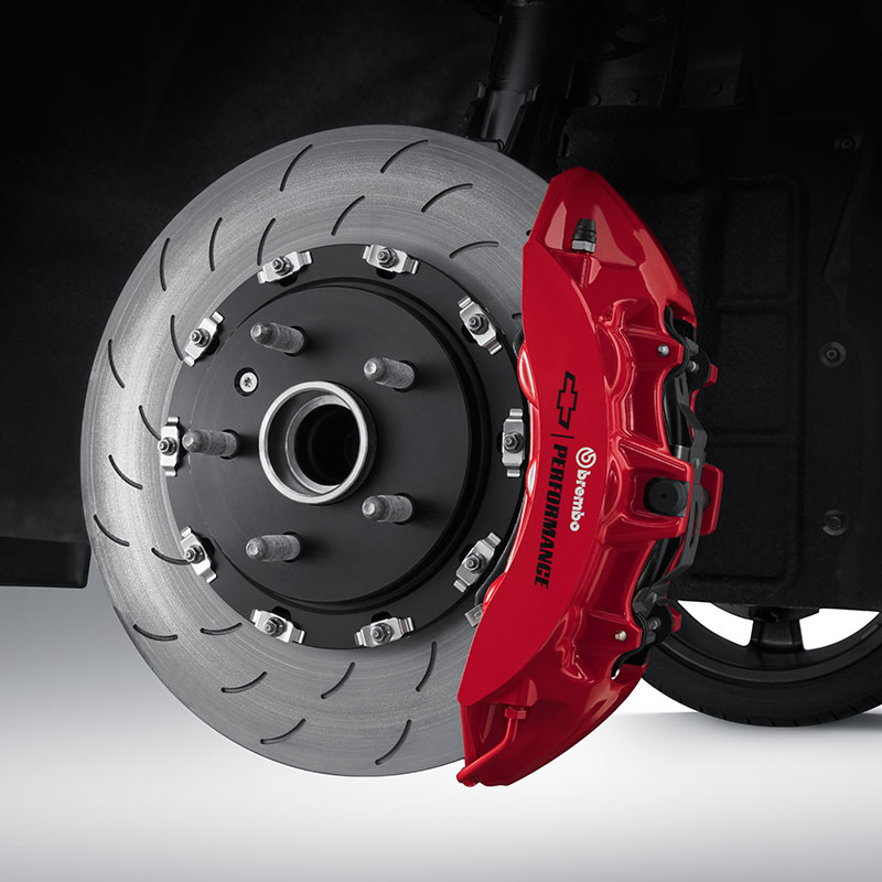 2019 Camaro Performance Brakes, LS/LT/SS, Front, Brembo