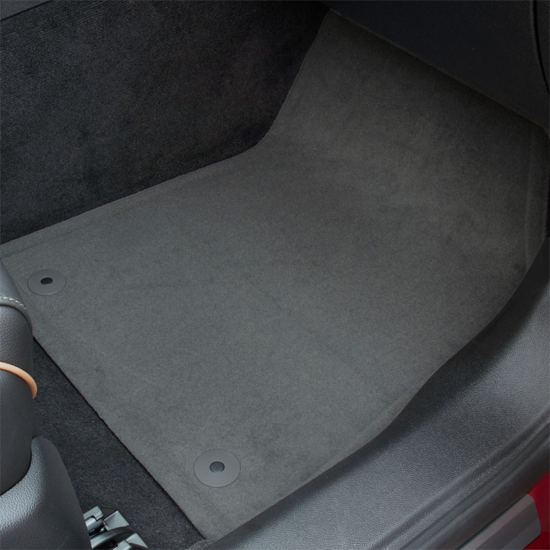 2018 Impala Floor Mats, Titanium, Front & Rear, Carpet Replacements